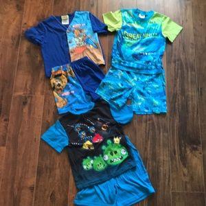 Boys pajama set bundle